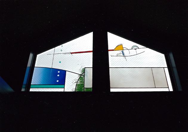 リビング吹き抜け(石川・能見)/open ceiling (entrance)