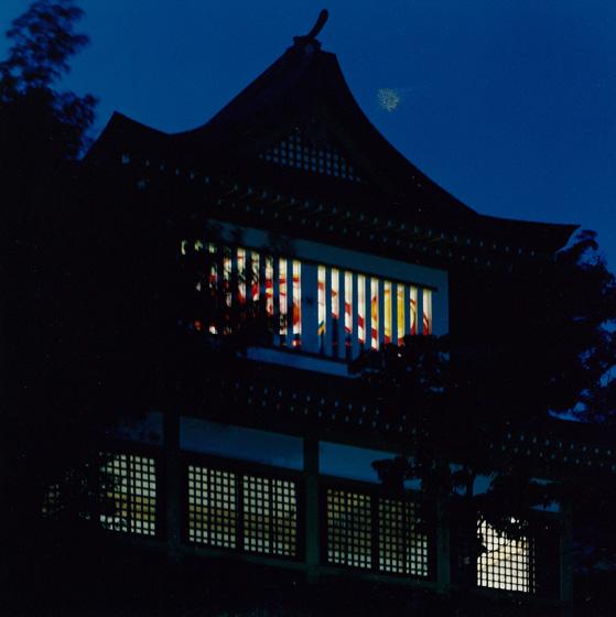 鎮西大社諏訪神社(夜バージョン)/shrine (night)