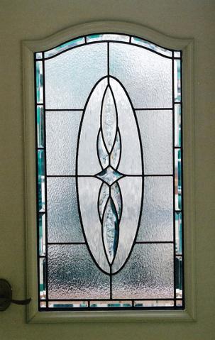 玄関吹抜とドア