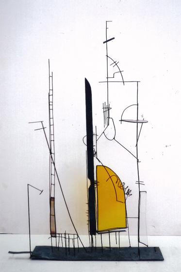 タイムレスイエロー(部分) 1989年