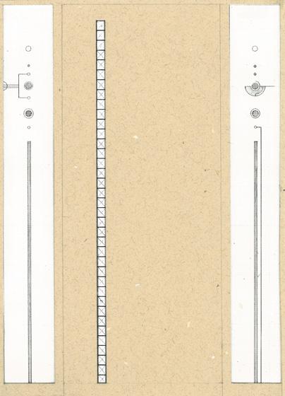 リビングドア(エッチング&グルー技法)/living room door(etching & glue technique )