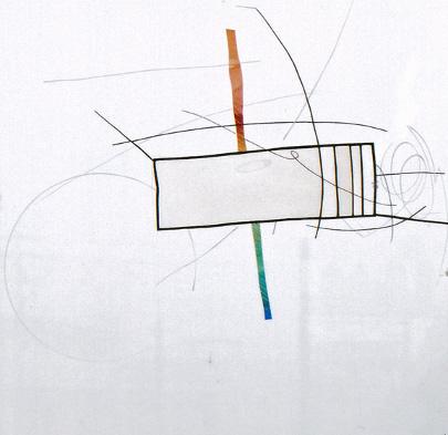 ホーキング・ラン 2009年/hawking run 2009 70×70cm